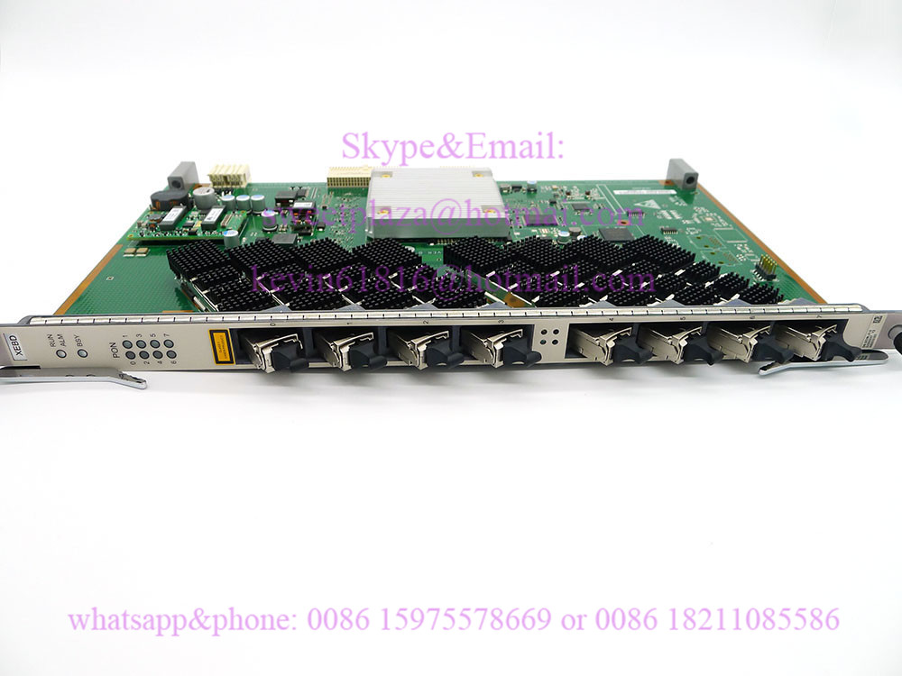 Huawei H802 XEBD 10G EPON board With 8 Ports 10G modules For Huawei MA5680T  MA5683T or MA5608T